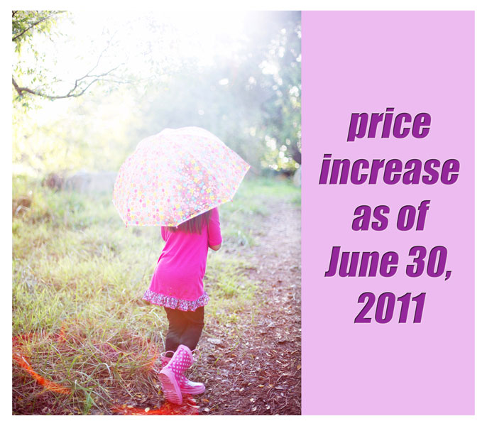Price Increase Notice » Sakura Koontz Photography
